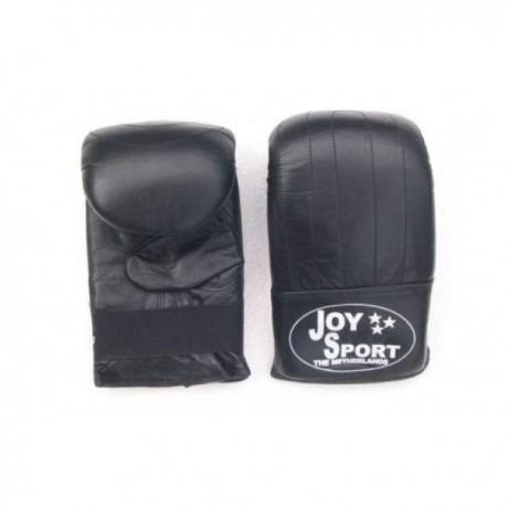 Stoot/Zakhandschoenen (Echt Leder) Kleur Zwart