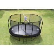 JumpPod Ovaal 460x300cm (89cm hoog) BLACK
